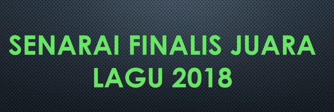 Finalis Juara Lagu 33 2018
