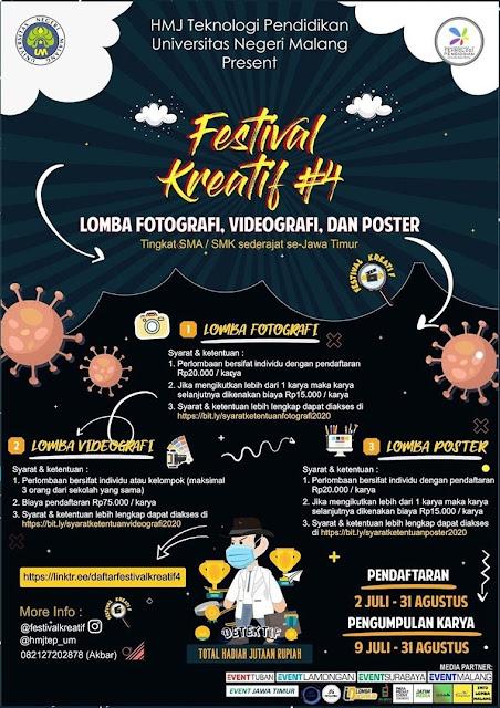 Festival Kreatif HMJ Teknologi Pendidikan Universitas Negeri Malang