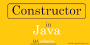 Constructor in Java ,Types and Example of Constructor