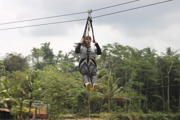 085226668920 Jasa Instalasi Flying Fox ~7 Spot Flying Fox Mendebarkan di Tanah Jawa~