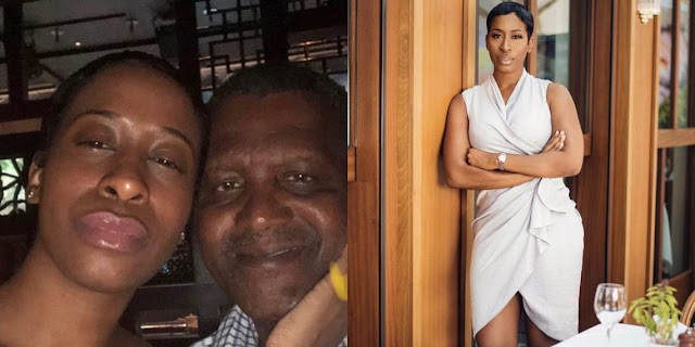 American restauranteur Claims Aliko Dangote dated, broke her heart into 1000 Pieces""