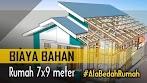 Hitung BIAYA BAHAN Rumah 7x9 meter - 3 Kamar ala BEDAH RUMAH