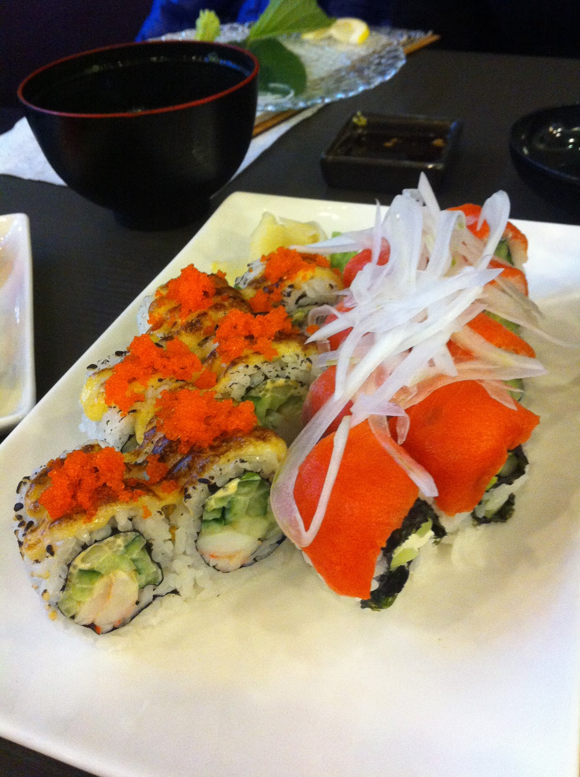 Adventures of EdRocker: Tsuki Sushi Bar