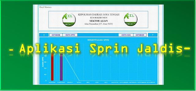 Aplikasi Excel Sprin Jaldis