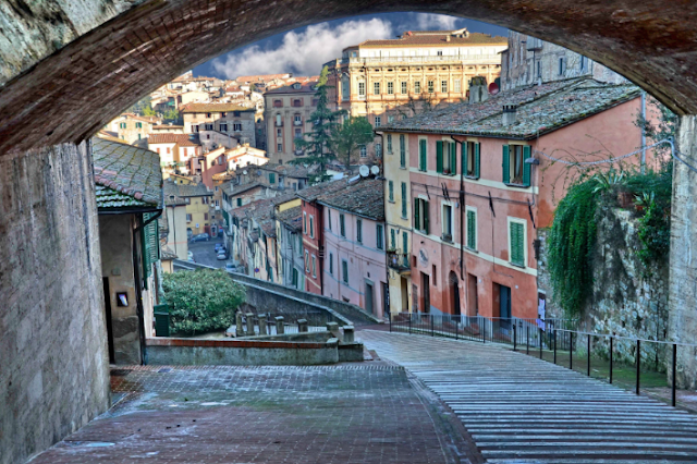 Perugia is not only about history - a major university city, it has a vibrant and hip feel