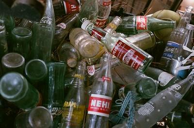 Botellas de refrescos