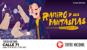 Obra RAMIRO Y SUS FANTASMAS | Teatro Nacional 71