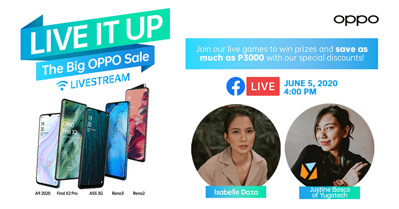 Score great discounts and awesome prizes at the Weekly ShOPPO Livestream