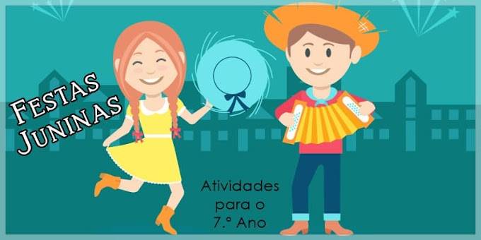 Interpretação de Poema: São João - Atividades de Língua Portuguesa para o 7.º A