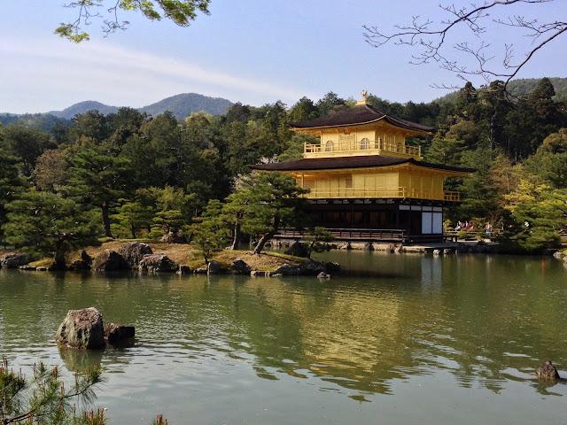 golden pagoda, Kyoto, Japan