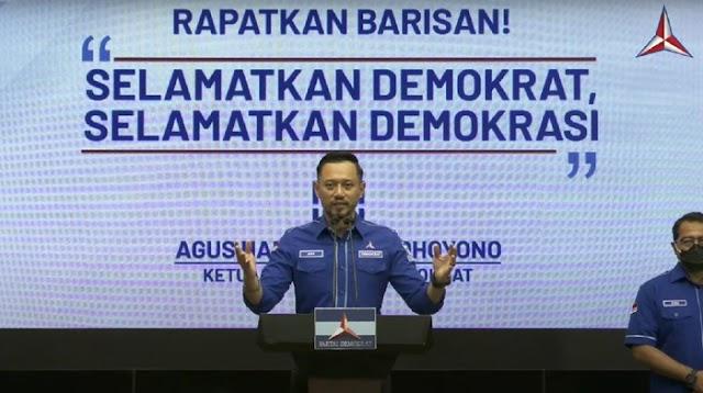 Merespons AHY : Rapatkan barisan selamatkan DEMOKRAT