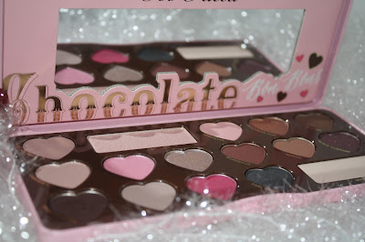 Too Faced Chocolate Bon Bons Palette Sephora dark swatch