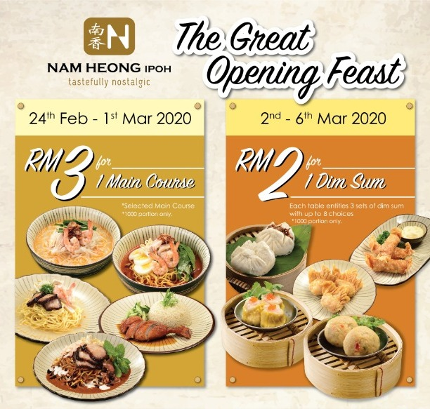 nam heong: sunway pyramid opening feast