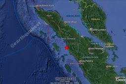 Gempa Menengah Akibat Aktivitas Subduksi Lempeng Guncang Tapanuli Selatan