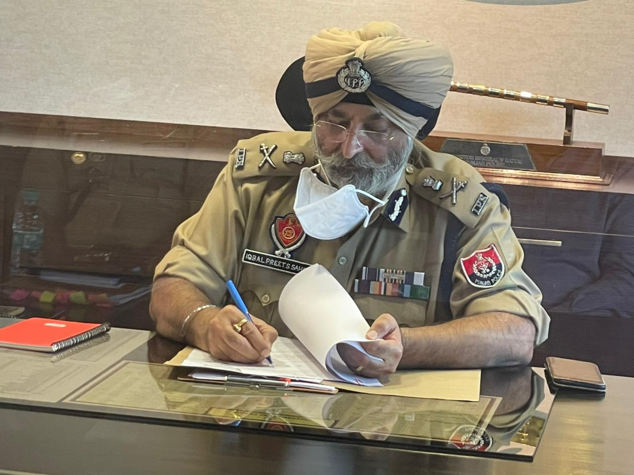 इकबाल प्रीत सिंह सहोता ने डी.जी.पी. पंजाब का अतिरिक्त प्रभार संभाला