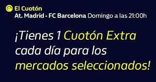 william hill 3 CUOTONES EXTRA Atletico vs Barcelona hasta 1 diciembre 2019
