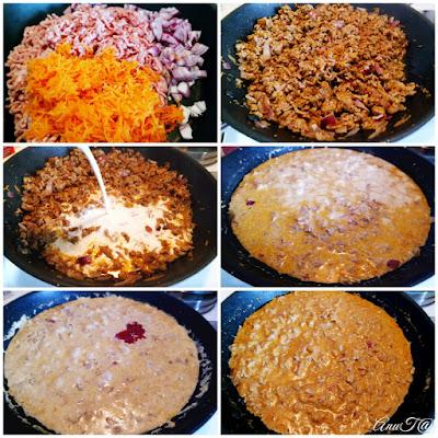 jauhelihakastike, helppo jauhelihakastike, maailman paras jauhelihakastike, porkkanainen jauhelihakastike