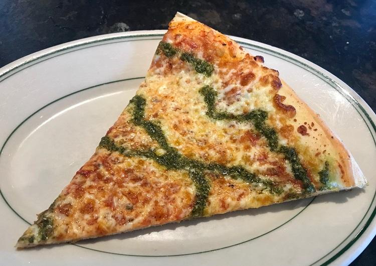 Village Pizzeria Langley, Pesto Pizza, Best Pizza on Whidbey Island