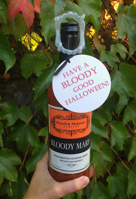 Have a Bloody Good Halloween - Perfect Easy Hostess Gift | www.jacolynmurphy.com
