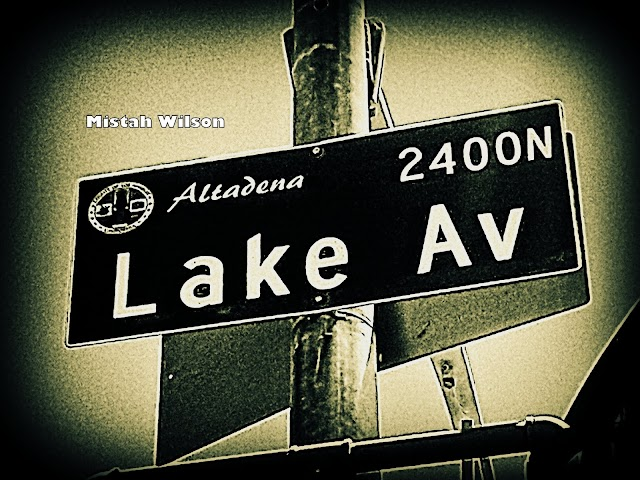 Lake Avenue, Altadena, CA by Mistah Wilson