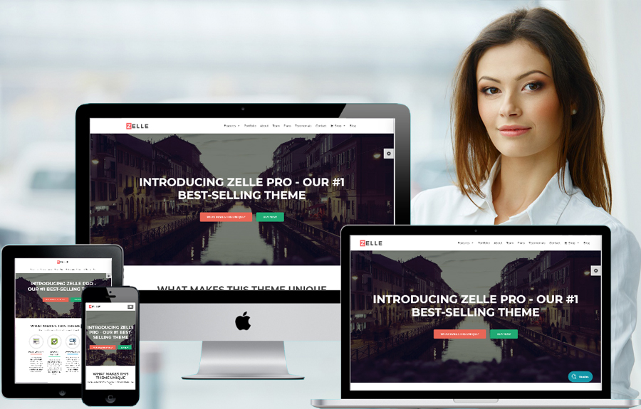 Zelle PRO Premium  WordPress