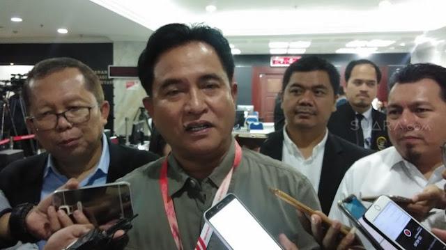 Yusril: Perbaikan Berkas Prabowo Langgar Peraturan MK Nomor 4 Tahun 2018