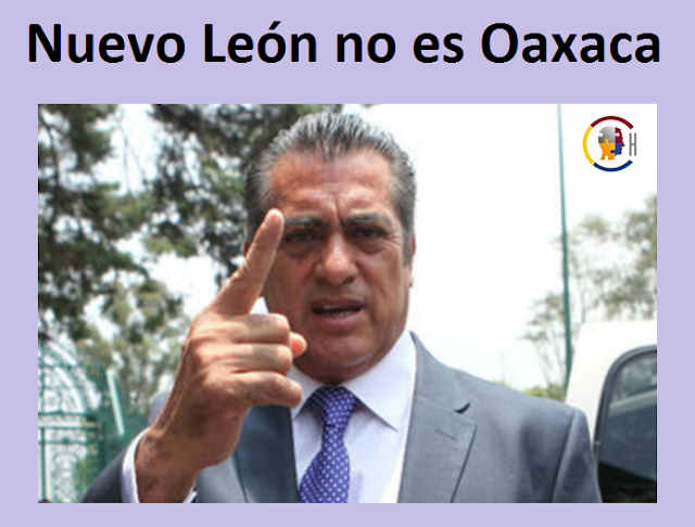 Nuevo León no es Oaxaca: El Bronco