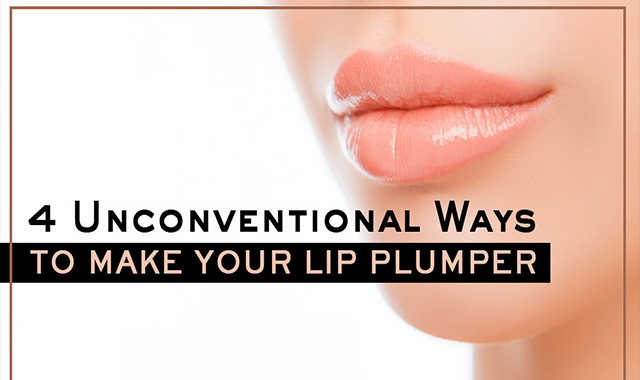 Clever Hacks To Make Your Lip Plumper #infographic