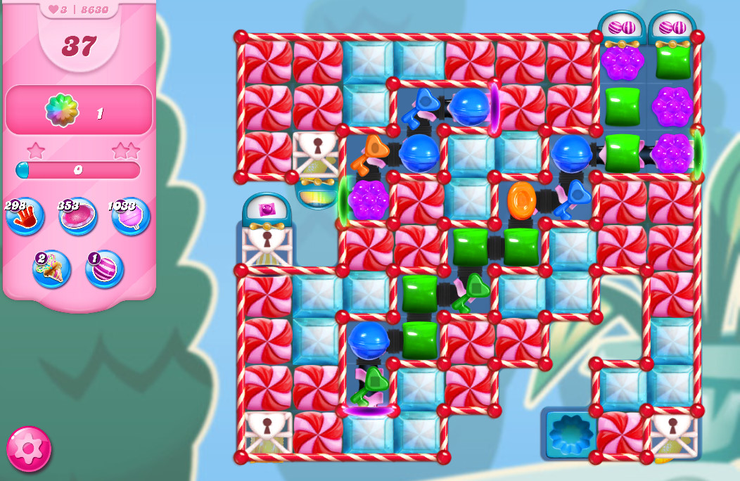 Candy Crush Saga level 8630