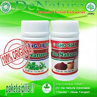 Image Kapsul Herbal De Nature Untuk Mengatasi Penyakit Sipilis
