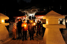 金峯山雪灯篭まつり