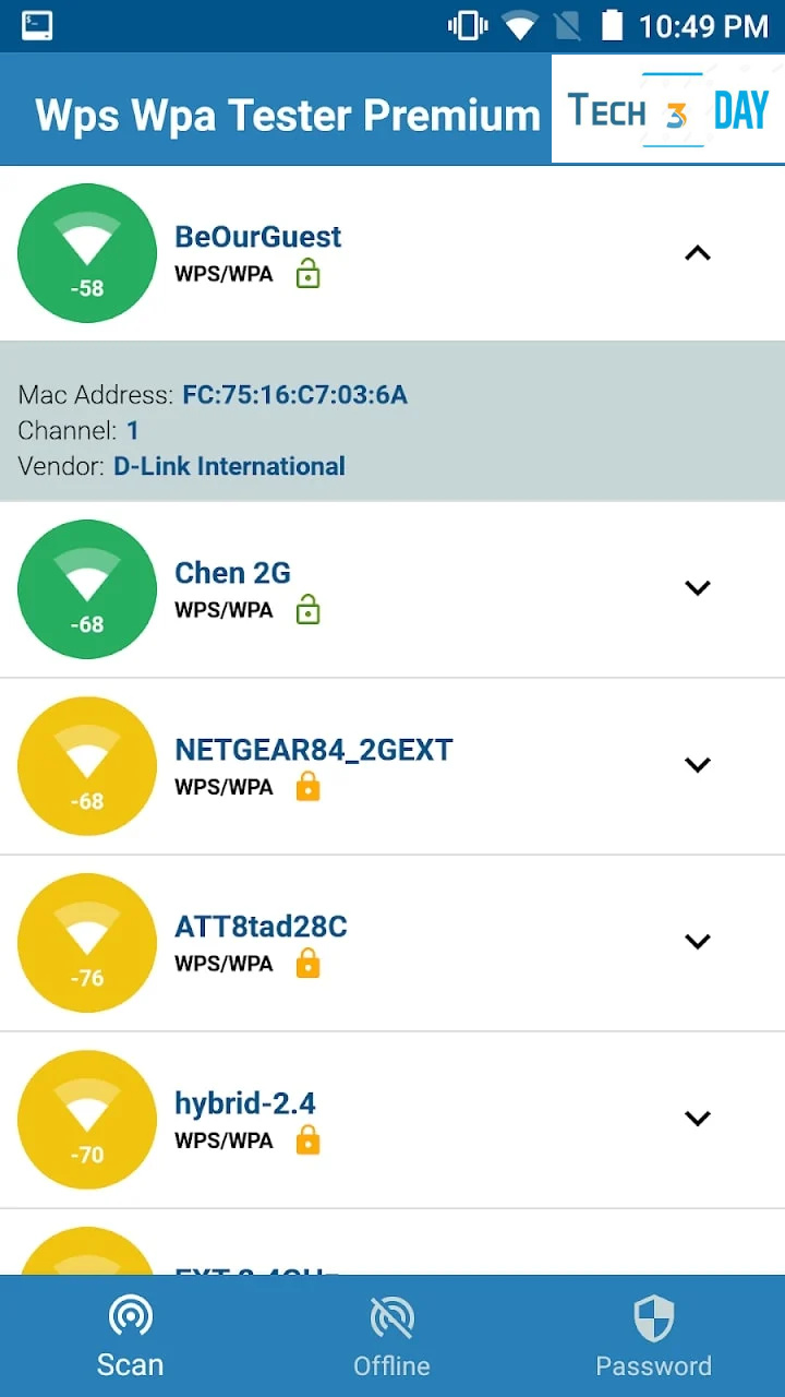 تحميل Wps Wpa Tester Premium (Premium Unlocked, No Ads) بدون روت وبدون إعلانات مزعجة