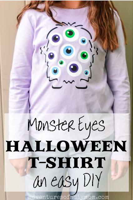 monster eyes t-shirt