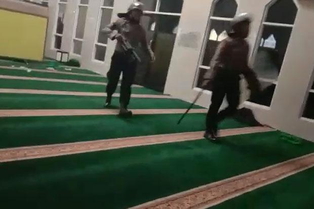 Kemarin Bilang Hoaks, Kini Polda Sulsel Meralat Soal Polisi Masuk Masjid
