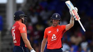 Sam Billings 88 - Chris Jordan 4-6 - West Indies vs England 2nd T20I 2019 Highlights
