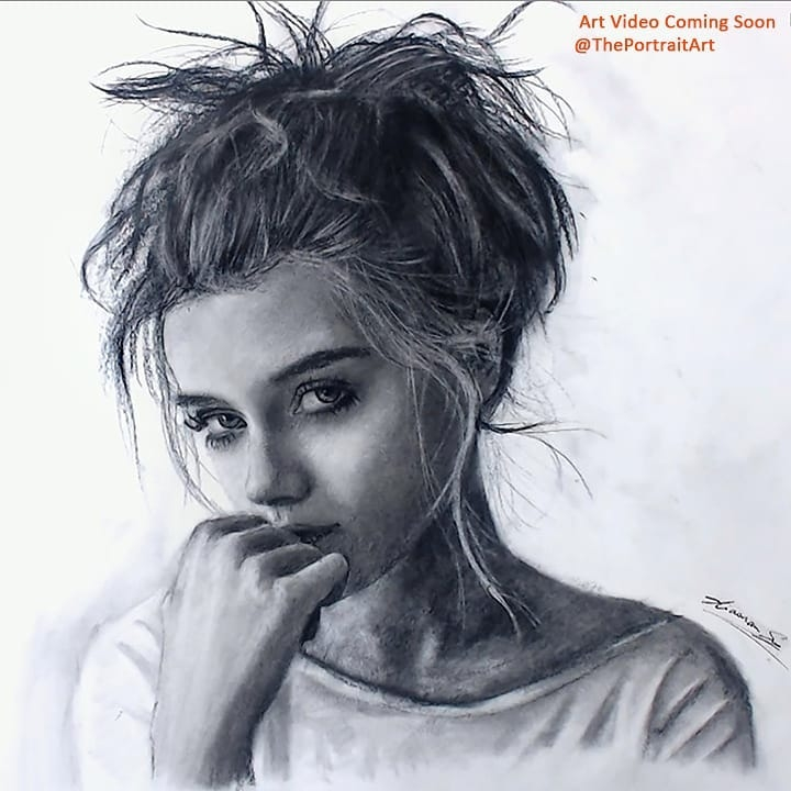 04-Female-Portrait-Xiaonan-Pencil-Charcoal-and-Pastel-Portrait-Drawings-www-designstack-co