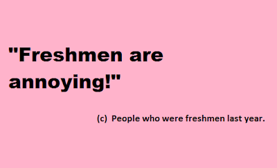 Top 7 Things To Remember When You Are A Freshman