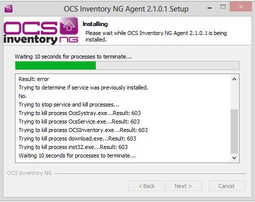 Como agregar un cliente Windows 8 en OCSInventory paso a paso