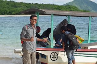 boat menuju gili nanggu