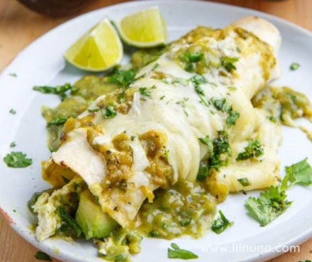 Recipes Chicken And Avocado Enchiladas