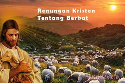 renungan kristen tentang berkat