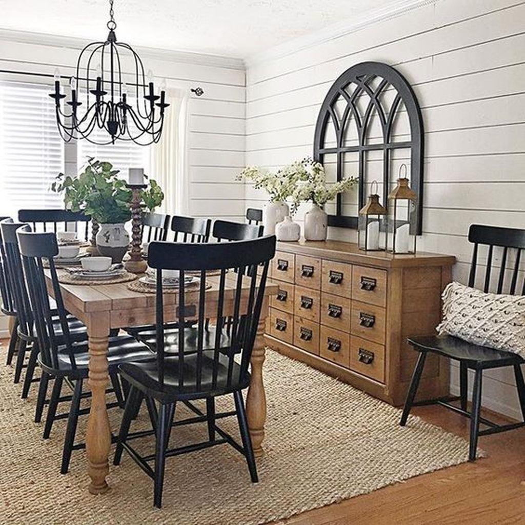 Home Design Ideas Classy: 37 Elegant Farmhouse Dining Room Decor Ideas