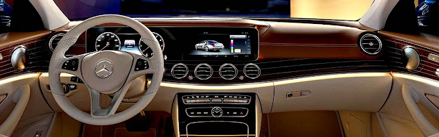 Mercedes-Benz Clase E 2017 interior