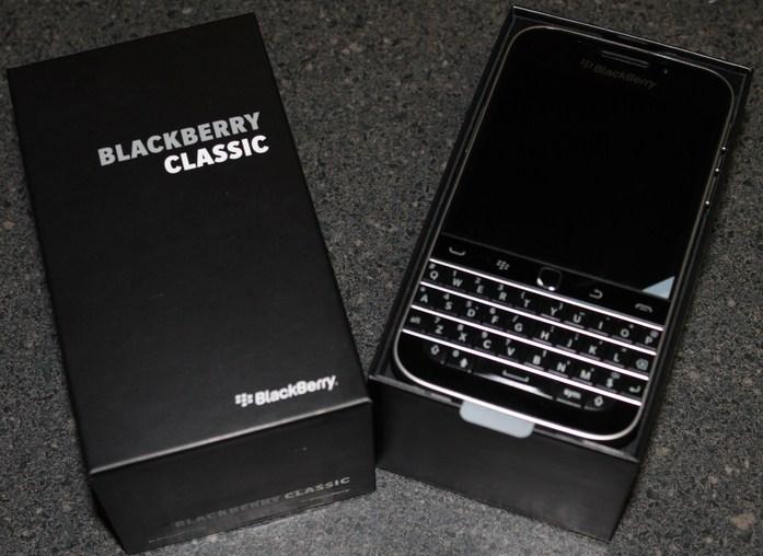 Keunggulan Blackberry Classic, Dirancang Desain Premium