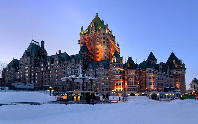 Fairmont Le Château Frontenac em Quebec