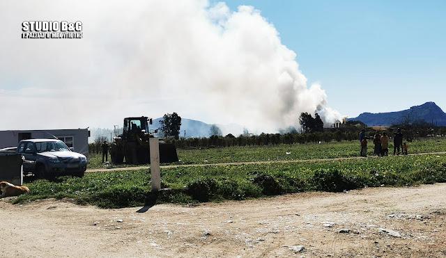 Αργολίδα: Ομάδα Ρομά σταμάτησε την κατασκευή του Σταθμού Μεταφόρτωσης Απορριμμάτων