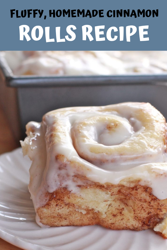 Fluffy, Homemade Cinnamon Rolls Recipe