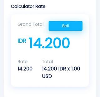 Formulir Order Dollar Paypal