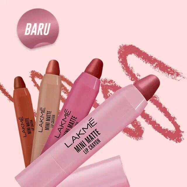 [Review] Lakme Mini Matte Lip Crayon