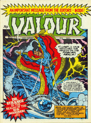 Valour #18, Dr Strange